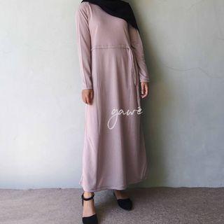 Enima long dress dove