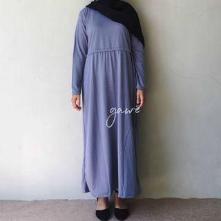 Enima long dress denim
