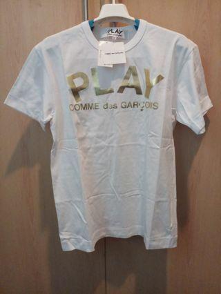 Kaos CDG Play Gold