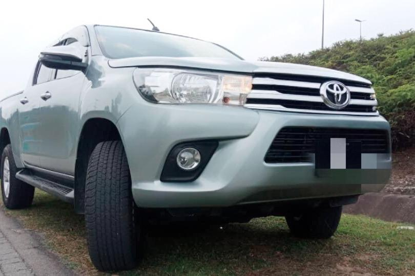 2018 Toyota HILUX 2.4 G VNT (A) Loan Bank / Credit