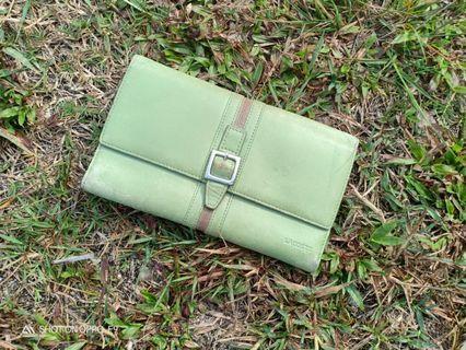 Lacoste leather long wallet