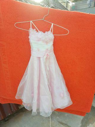 Party Dress Pink Elegance