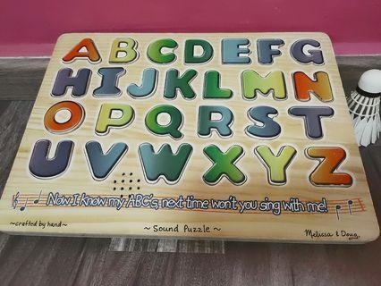 Phonics alphabet board with sound