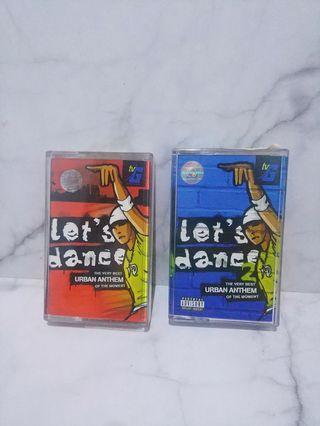 Kaset Pita Lets Dance 1 & 2