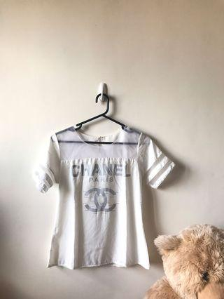 Chanel White Top