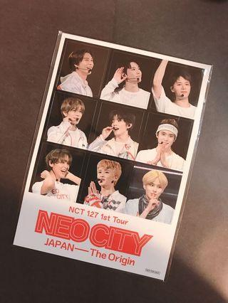 NCT127 Neo City in Japan DVD - Magnet set