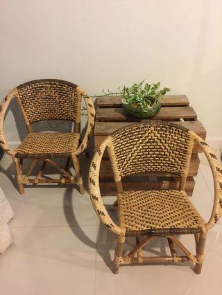 Rotan Chair (Price for 2)