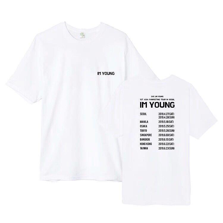 """Bae Jinyoung 1st Asia Fanmeeting Tour """"Im Young"""" Duplicate Tee"""
