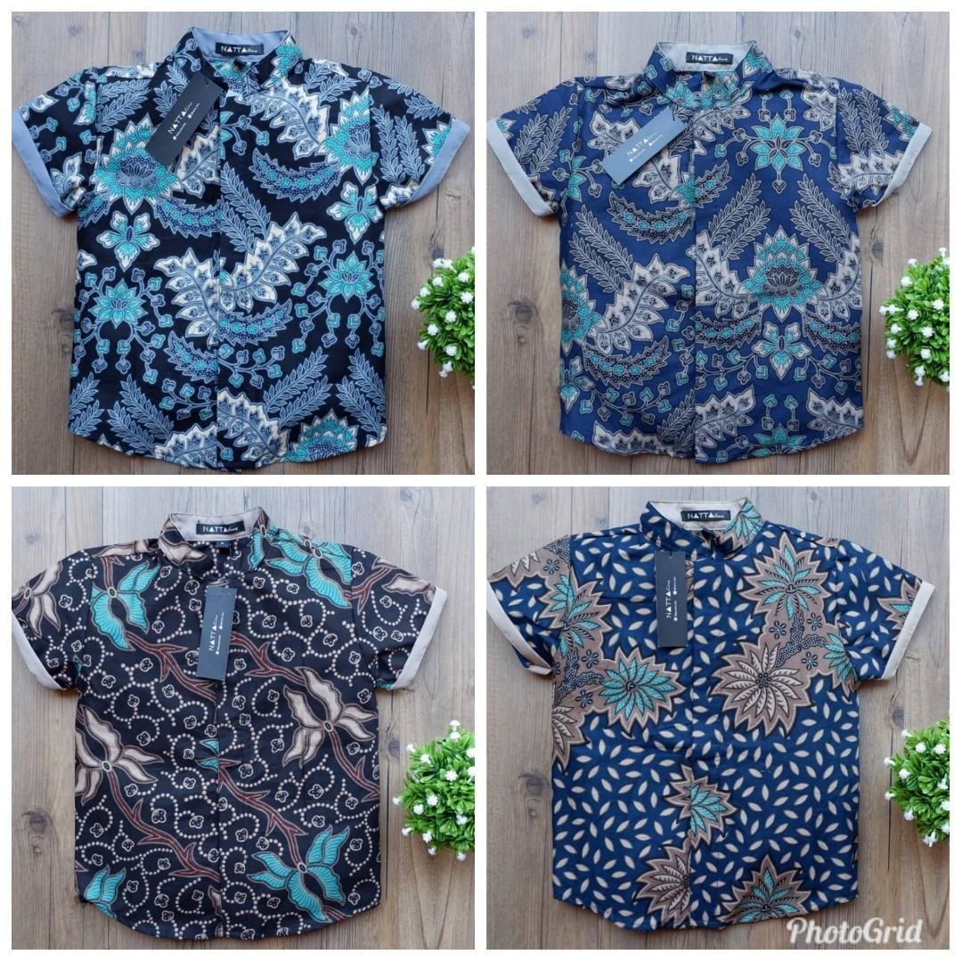 Batik shirt for father & son