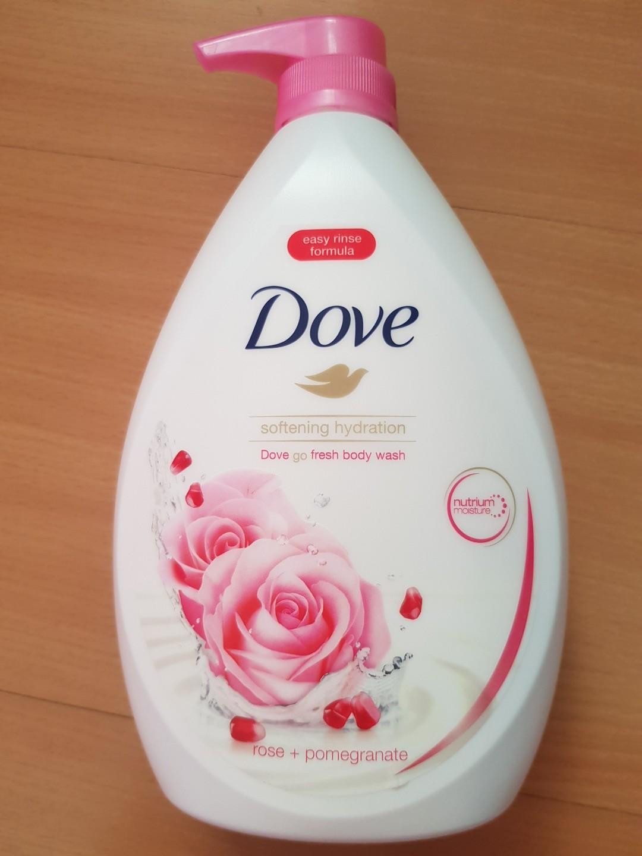 Brand New Dove Softening Hydration (Rose + Pomegranate)