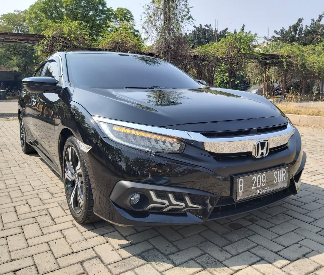 Civic Turbo ES 2016 KM 17 ribu Seperti Baru GOOD CONDITION!!