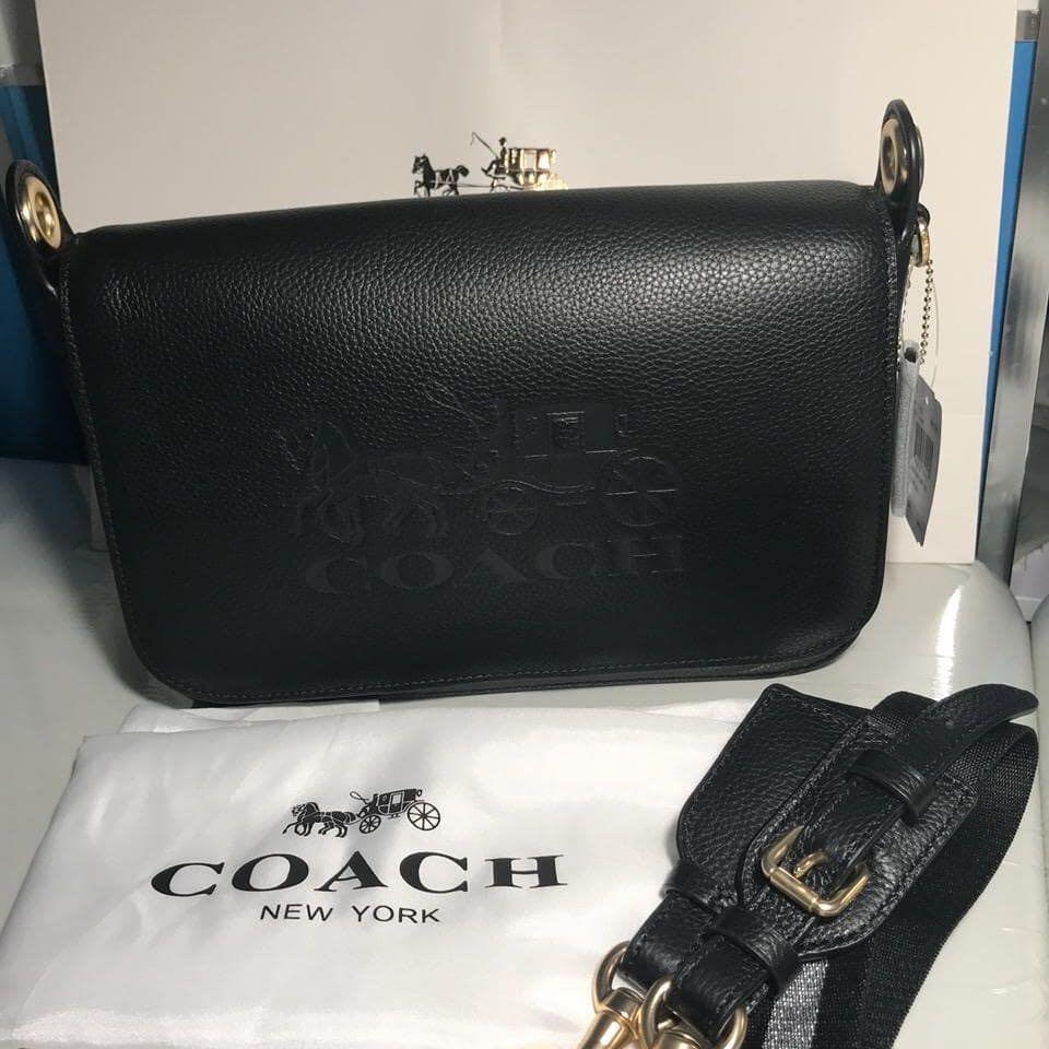 Coach Crossbody Bag Authentic bahan kulit asli ada nomor seri kulit mulus Like New❤️