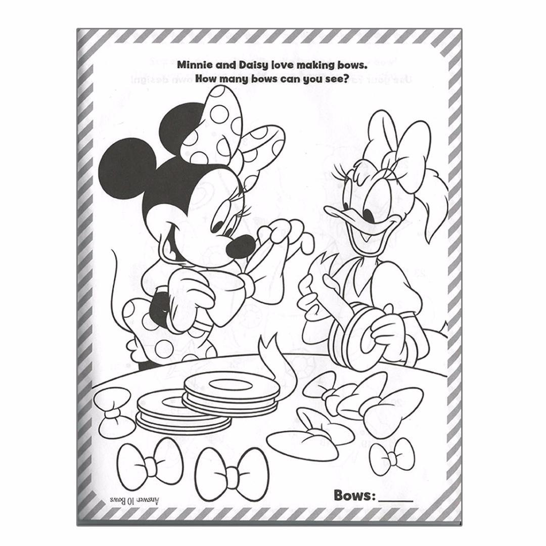 Disney Colouring & Sticker Activity Pack - Minnie & Daisy | Colouring Book | Sticker | Activity Book