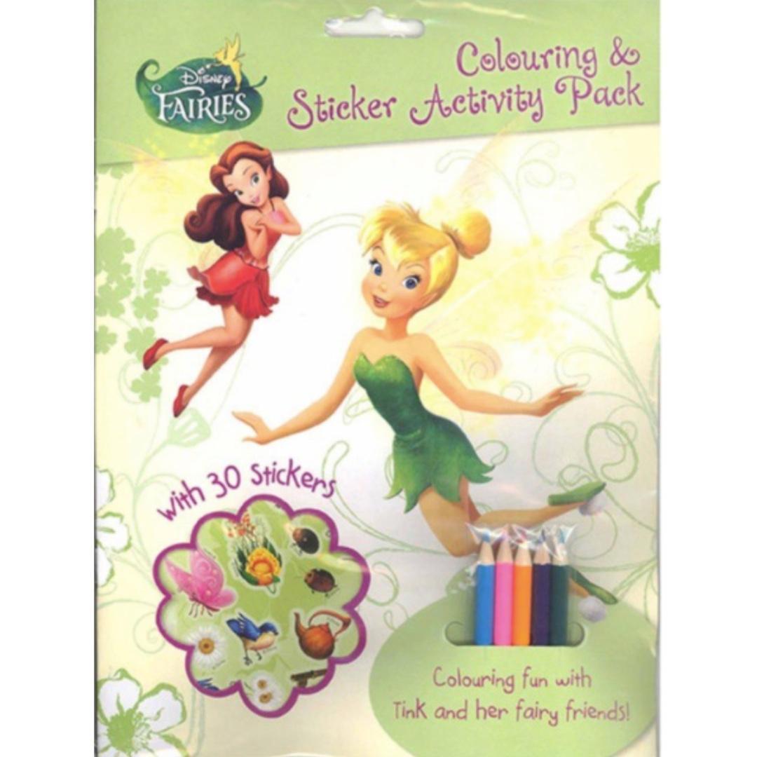 Disney Colouring & Sticker Activity Pack -Fairies | Colouring Book | Sticker | Activity Book