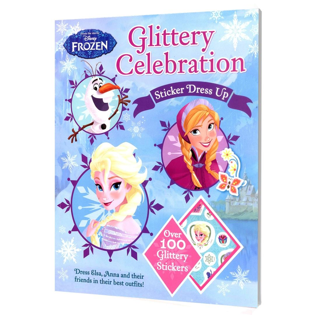 Disney Frozen - Glittery Celebration Sticker Dress Up | Sticker | Activity Book