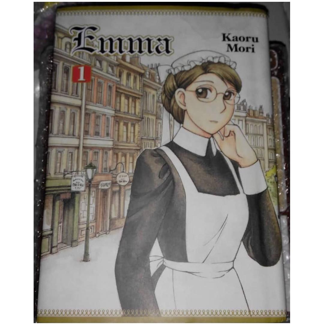 Emma: A Victorian Romance Volume 1 Hardcover –  by Kaoru Mori (Original Anime Manga- English)