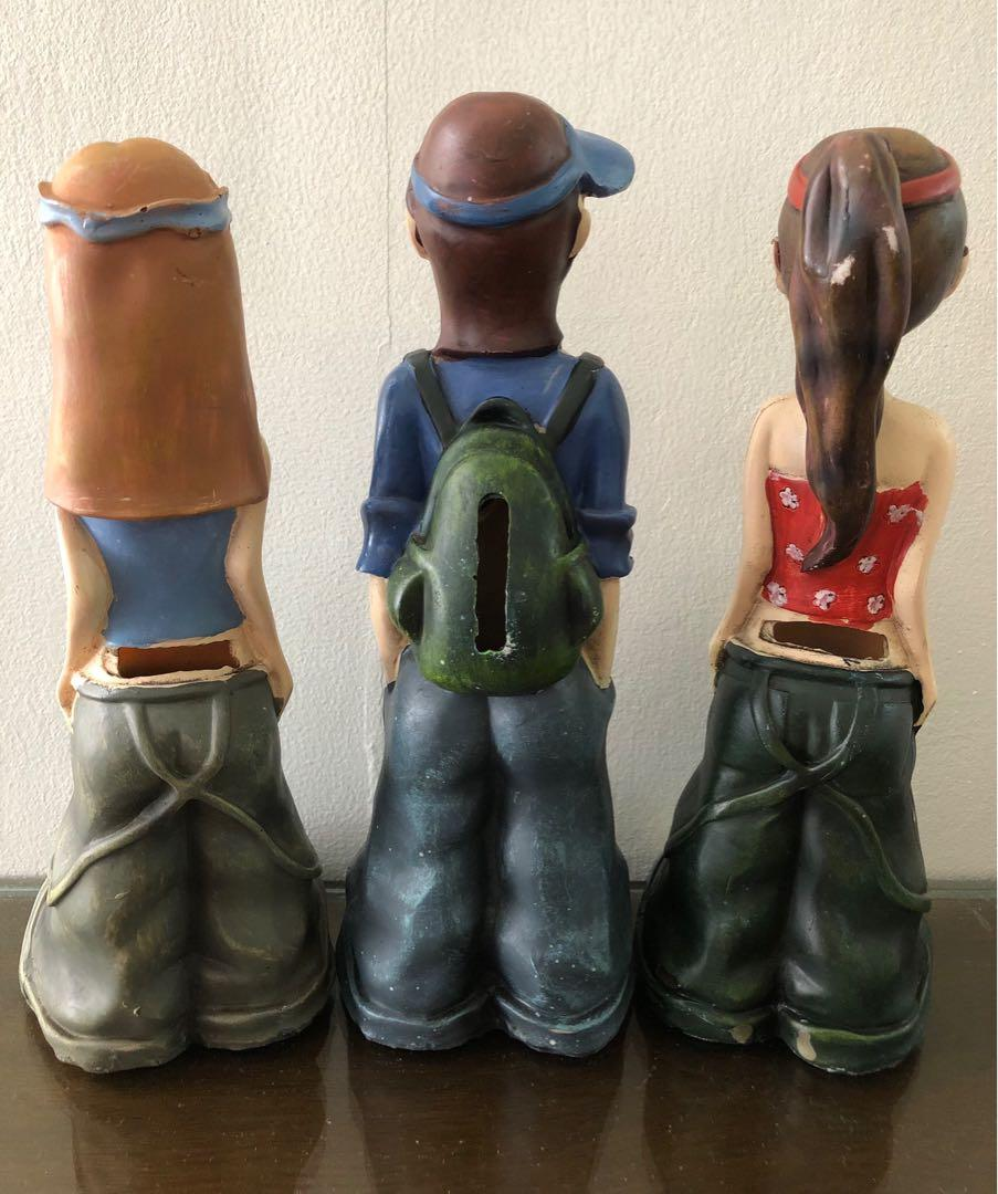 Figurines/ Coin bank