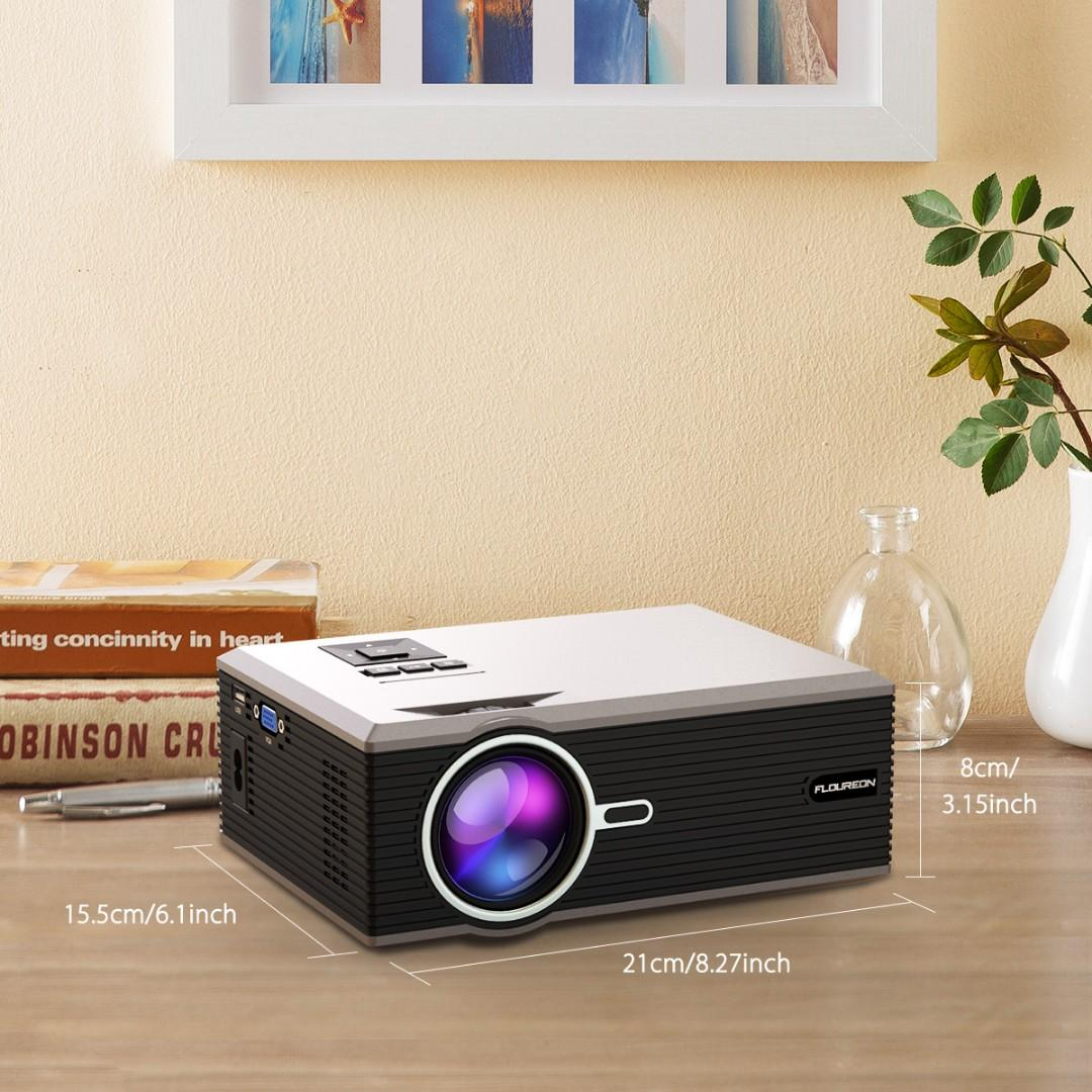 🔥Floureon Cinema Projector🔥