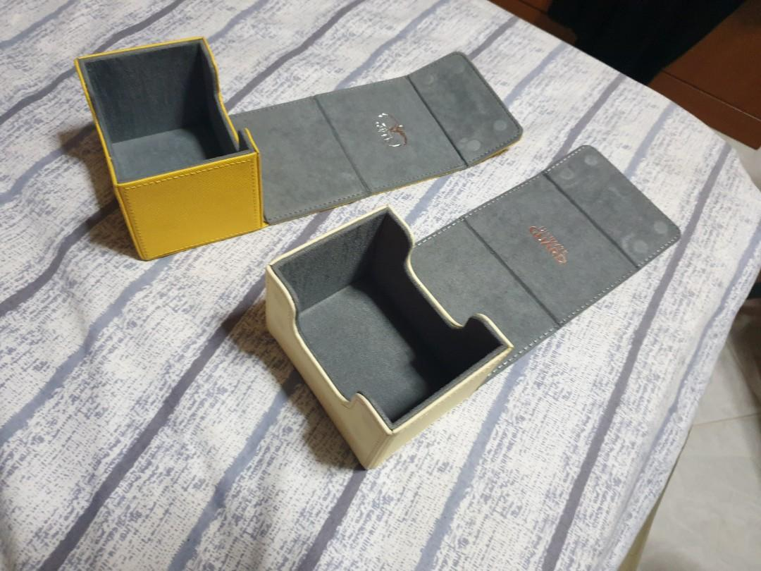 Game card deck box