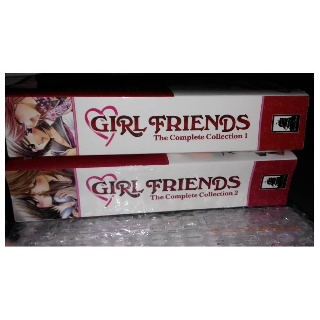 Girl Friends: The Complete Collection 1 and 2 by Milk Morinaga - English - Original Anime Manga (Girlfriends) SET
