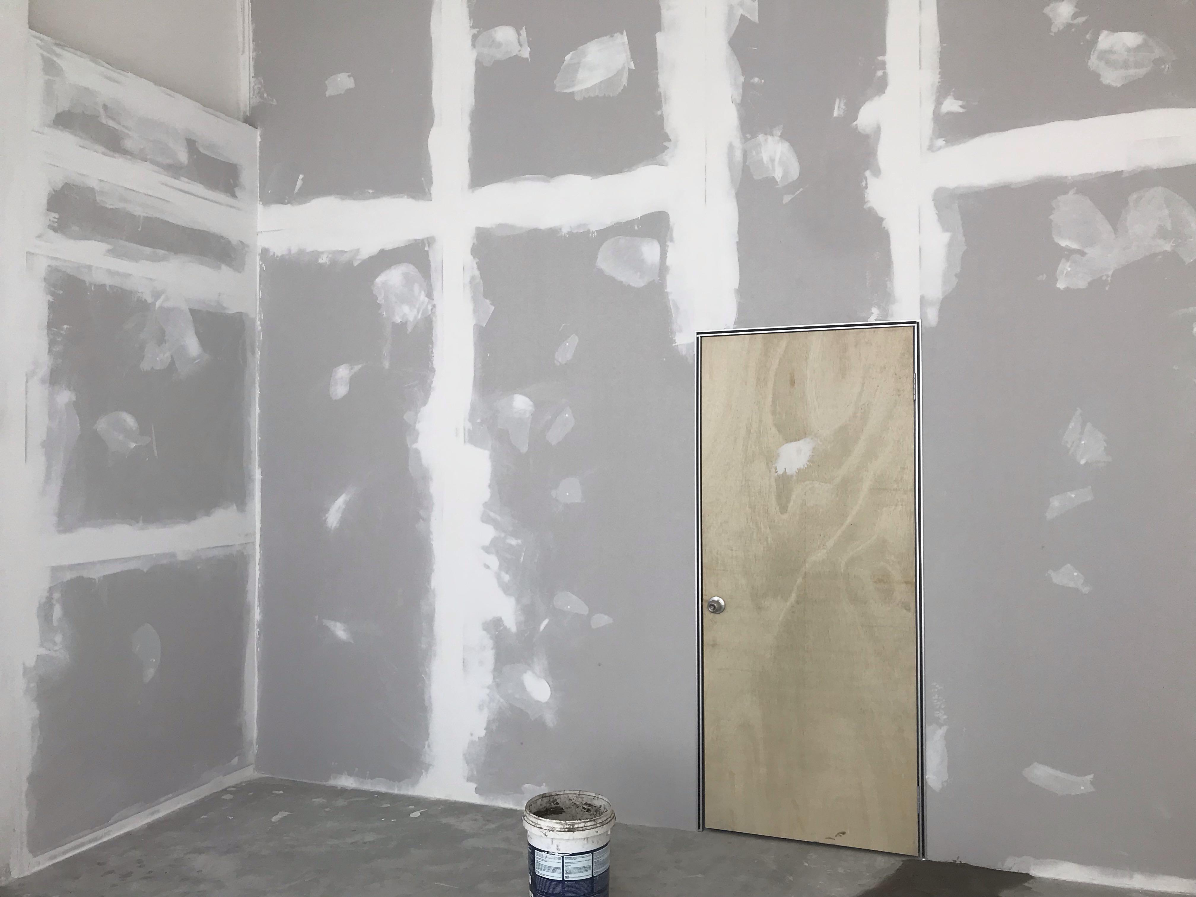 Gypsum board drywall Partition For ShopLot open Business