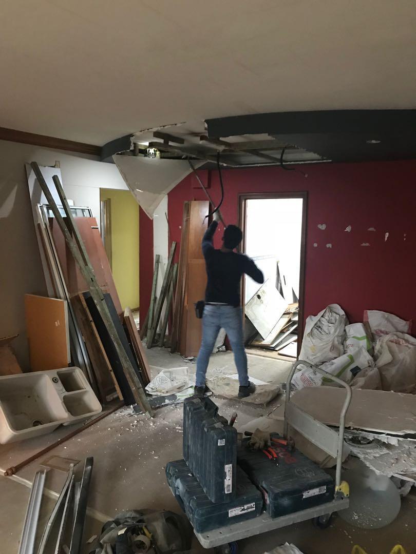 Hacking / demolition & reinstatement