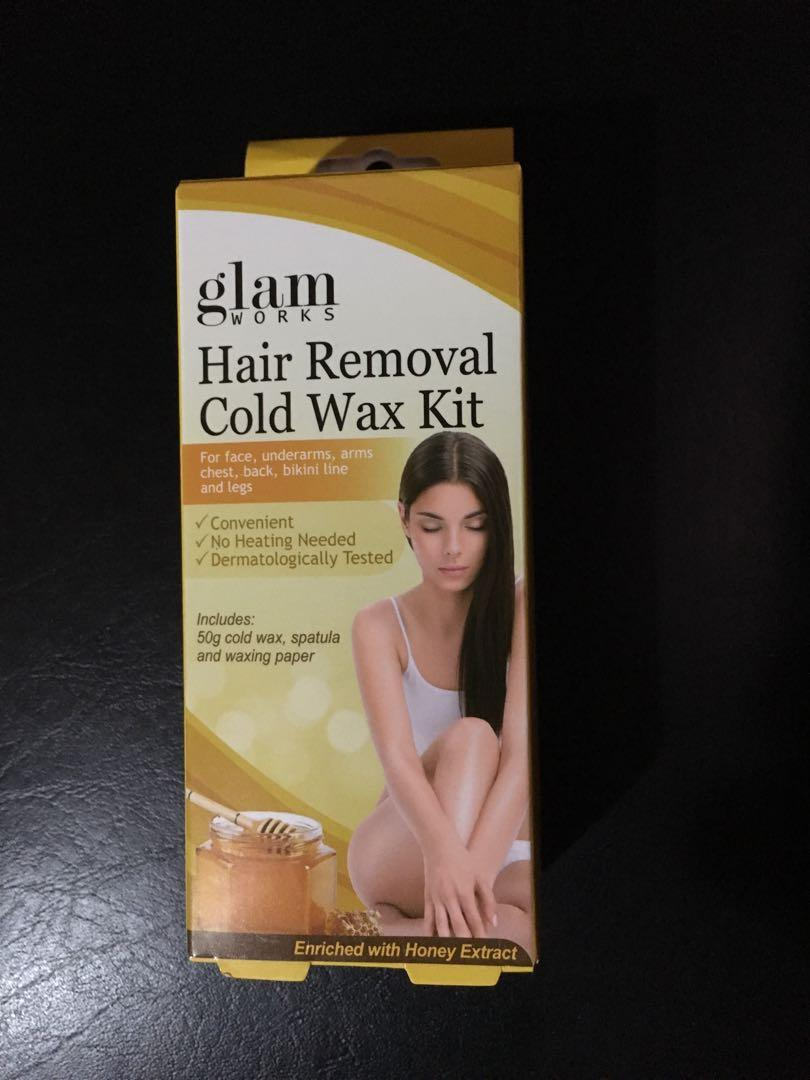 Hair Removal Cold Wax Kit On Carousell