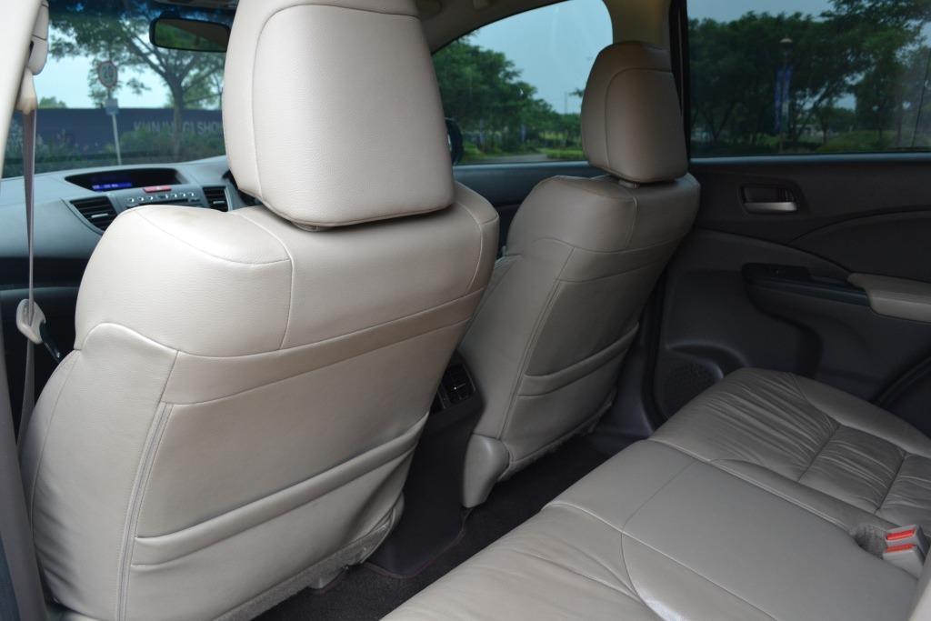 Honda CRV 2400cc 2013 Putih Mewah Istimewa (TDP 5 JT)