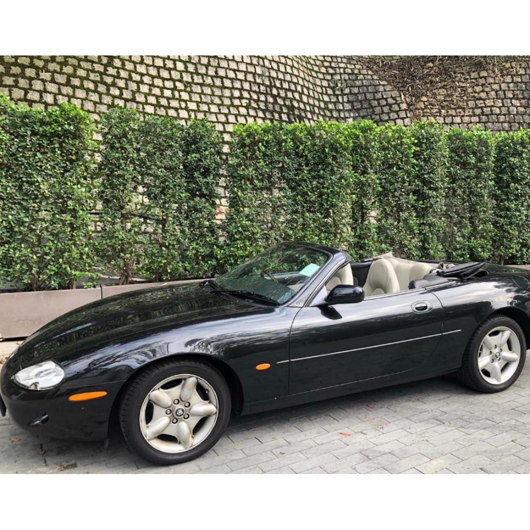 1996 Jaguar XK8 Convertible (2291)