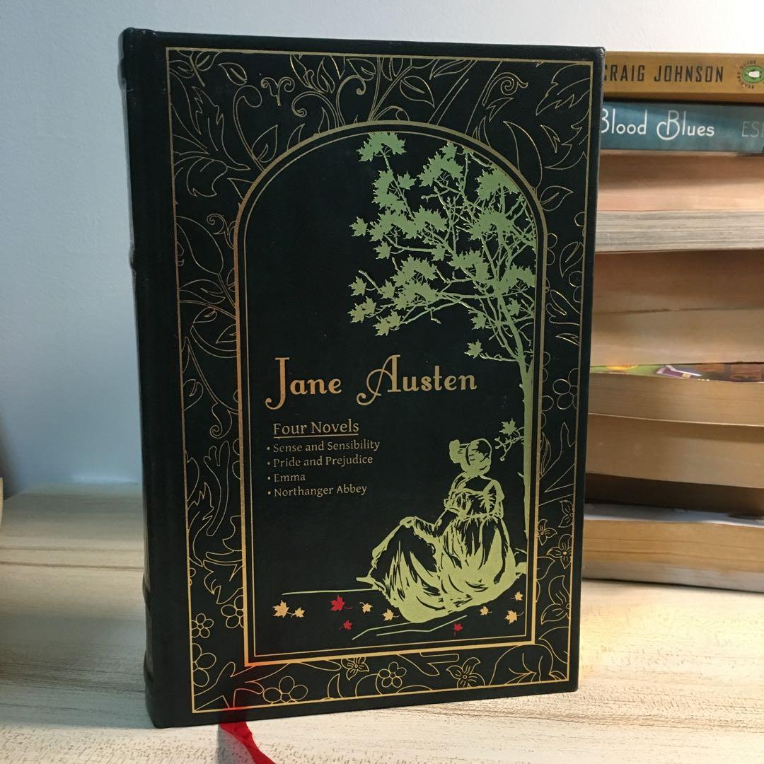 Jane Austen Novels (Pride and Prejudice, Sense and Sensibility, Emma, Northanger Abby)