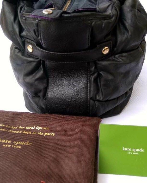 Kate Spade Bag Authentic bahan kulit asli ada nomor seri kulit mulus Like New✨
