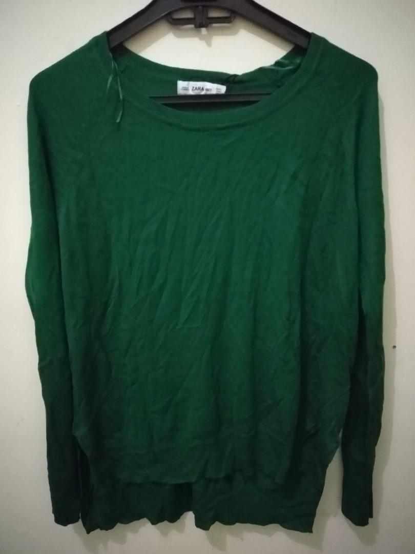 knit wear green