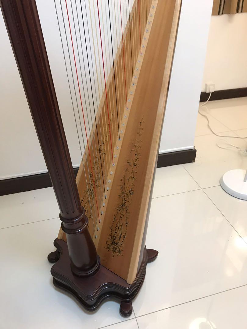 Lyon & Healy Harp 40 絃 二手豎琴
