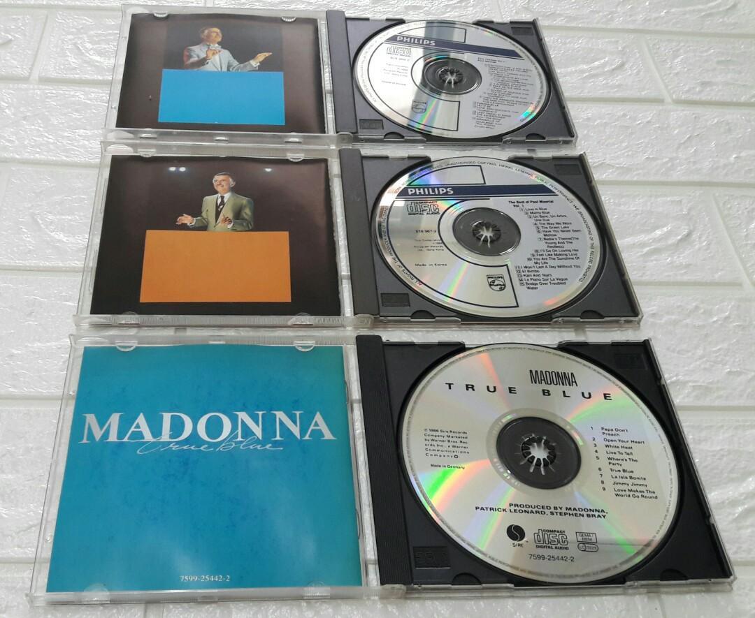 ( 3 CD )  Madonna - True Blue/ The Best.Of Mauriat Vol.1/ Film Themes Vol.1- Paul Mauriat