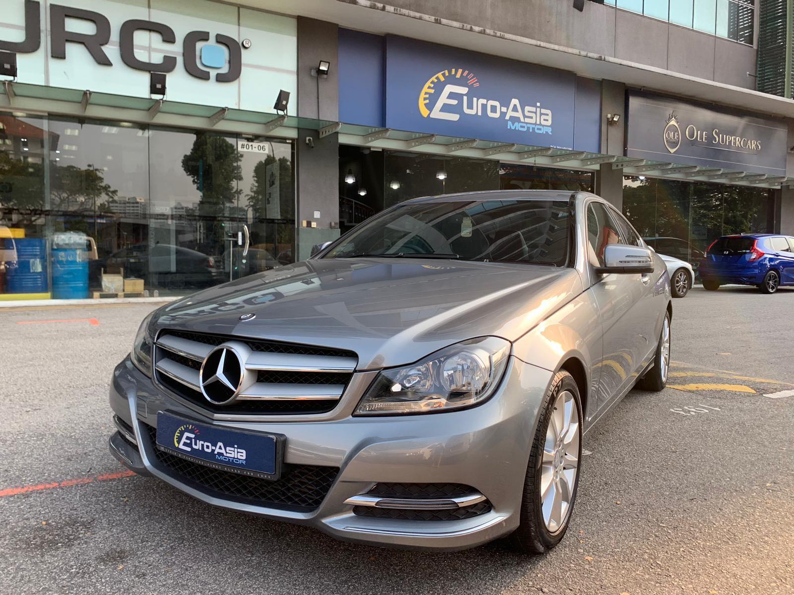 Mercedes-Benz C180 Coupe BlueEfficiency Style Auto