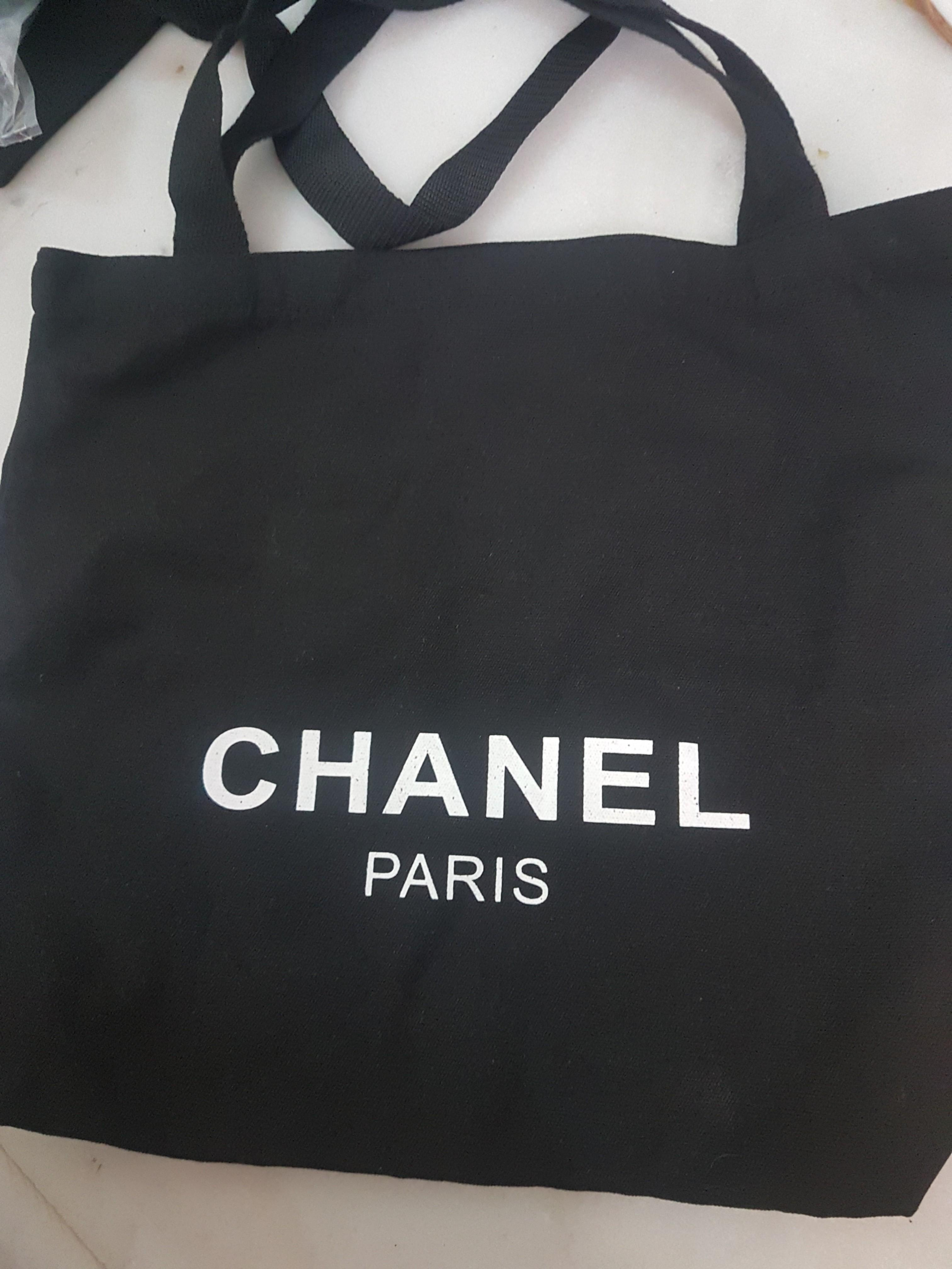 New Chanel Canvas Tote Bag