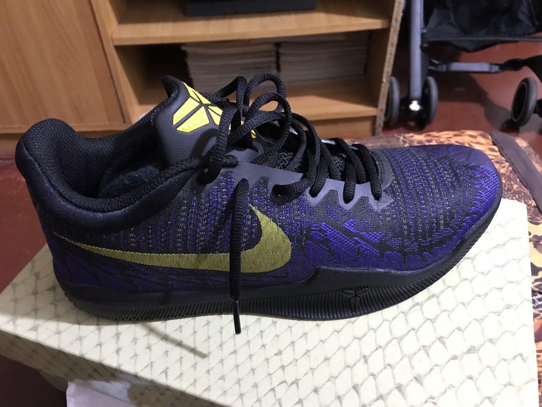 Nike Mamba Rage Lakers CW Sz 9.5, Men's