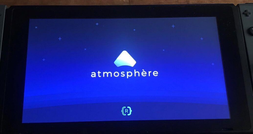 Nintendo Switch Mod (Atmosphere custom firmware build) on