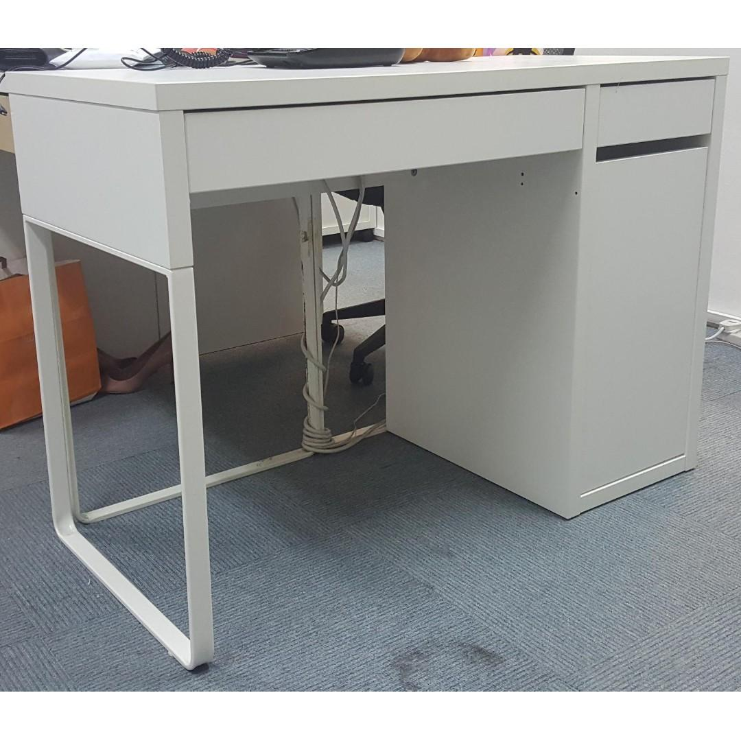 5 Office Table Ikea Micke Furniture Tables Chairs On Carousell