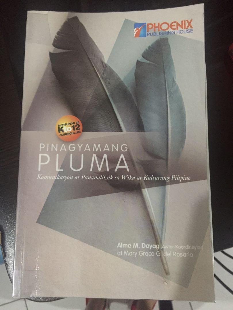 SHS // Pinagyamang Pluma: Komunikasyon at Pananaliksik sa Wika at Kulturang Pilipino