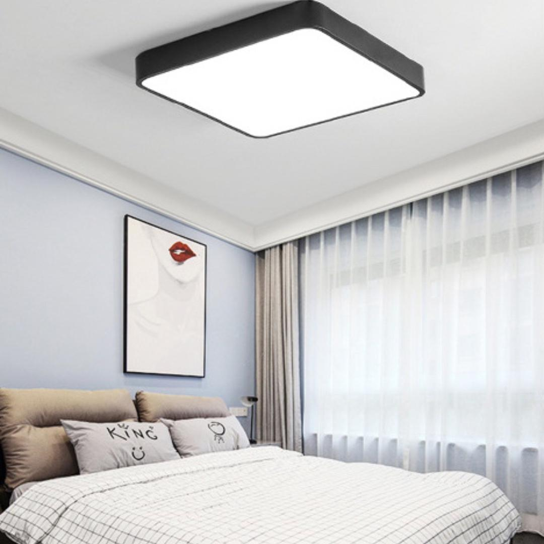 Platz Black LED Ceiling Light