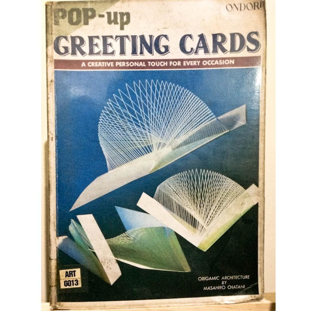 Pop-Up Greeting Cards: A Creative Personal Touch for Every Occasion | Origamic Architecture by Masahiro Chatani