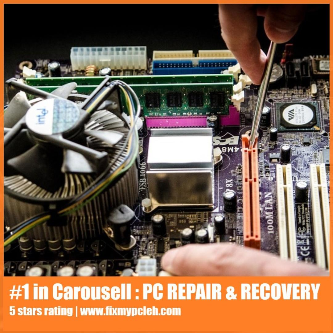 Professional PC Repair & Recovery Services
