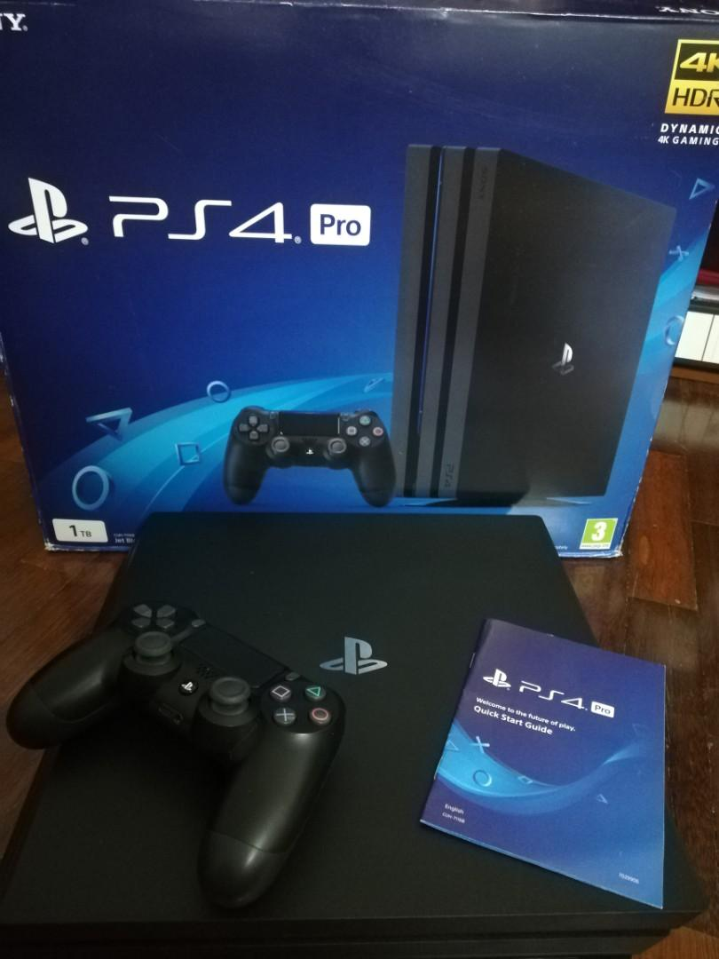 Ps4 Pro (4K) 1TB on Carousell