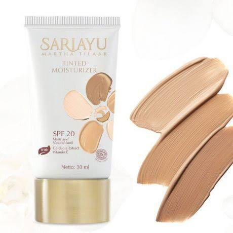 Sariayu Tinted Moisturizer SPF 20 Shade 02 / BB CC cream preloved