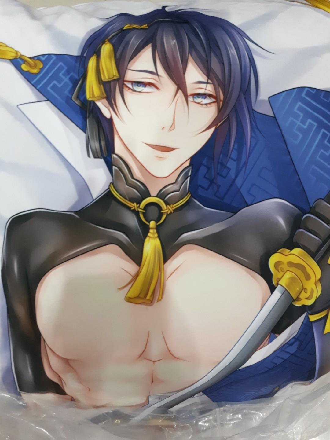 Touken ranbu body pillow and pillow- Mikazuki Munechika