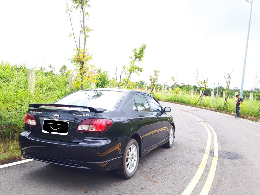 Toyota Alits 黑