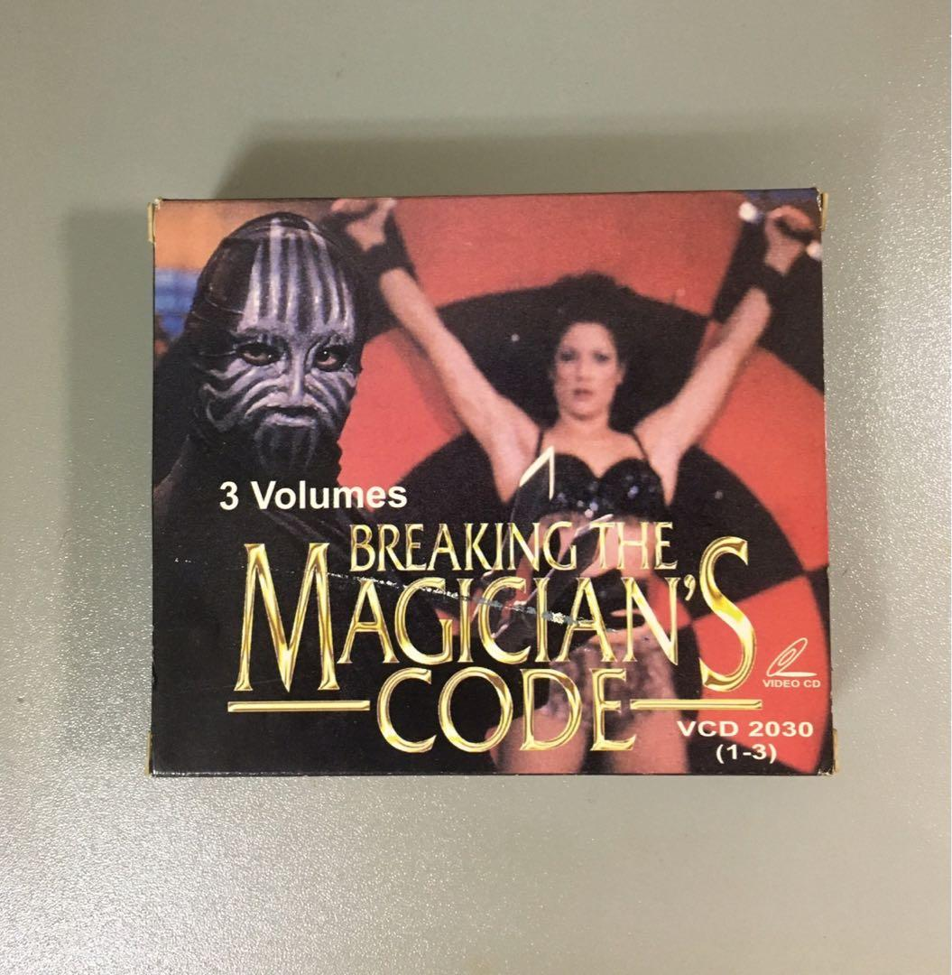 VCD breaking the magician's code