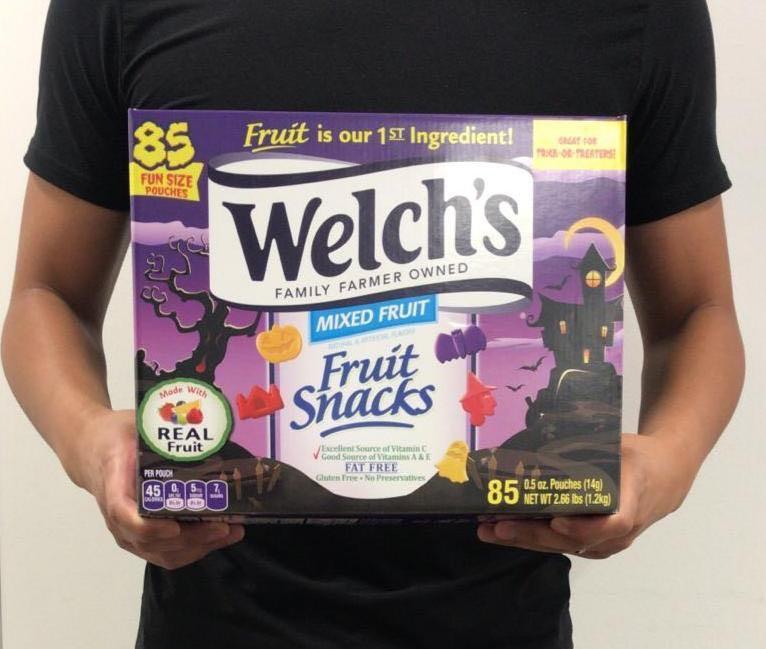 美國Welch's 特別版Halloween果汁軟糖