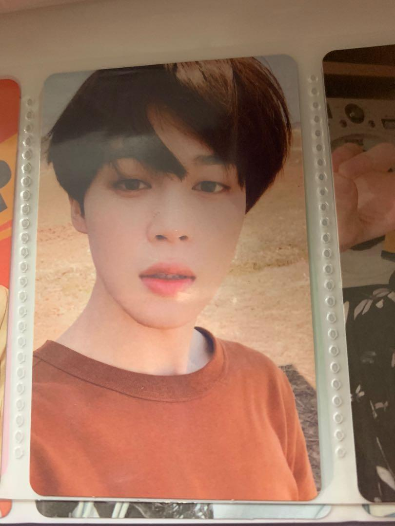 (WTS) BTS LOVE YOURSELF: TEAR FULL SET WITH JIMIN PHOTOCARD